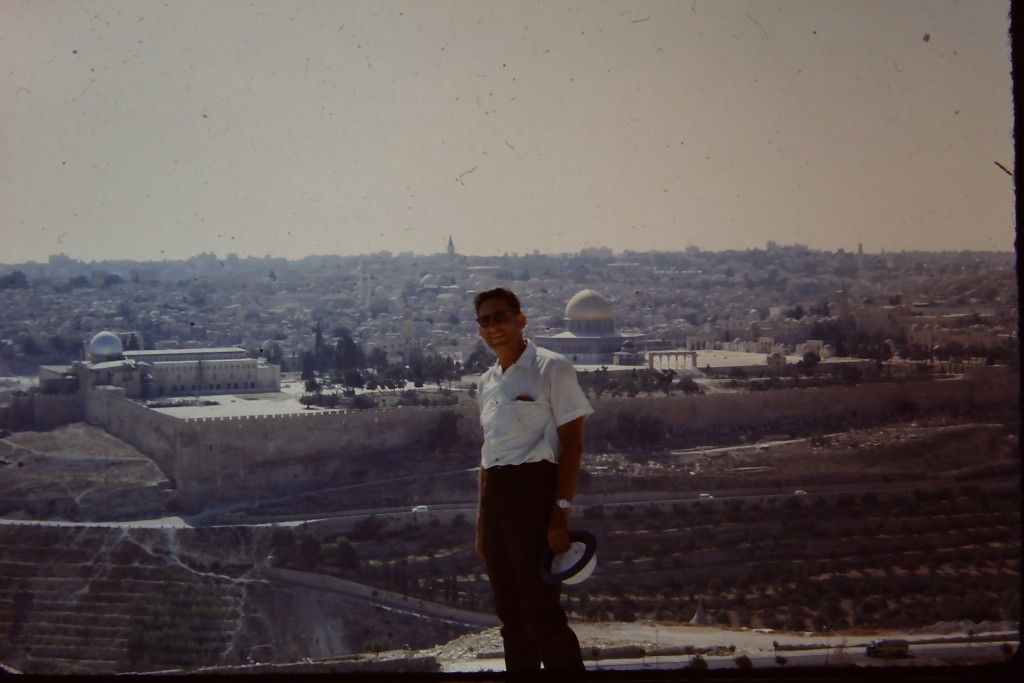 My Dad in Jerusalem in the early 70's